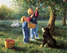 Robert Duncan - I love this one - I love how the dog is always in there! It reminds me of our dog rex who is an Australian shepherd! :)