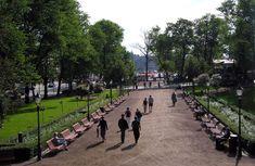 Espa on Suomen tunnetuin puisto varsinainen cityelämän catwalk [Marli Masalin]