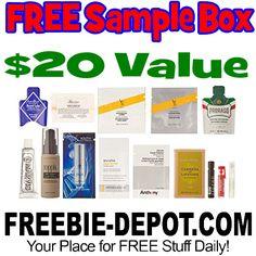 ►► FREE Luxury Men's Grooming Box – 10+ FREE Samples – $19.99 Value ►► #Amazon, #FatherSDay, #Free, #FREESample, #FREEStuff, #Freebie, #Frugal, #Sample, #SampleBox ►► Freebie Depot