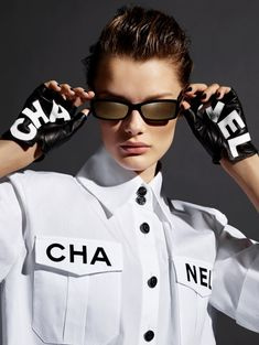 1027d742d3 Chanel Eyewear Spring 2019 Campaign