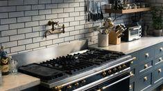 Inside Haven's Kitchen Founder Alison Cayne's Kitchen - Coveteur Making Mattresses, Havens Kitchen, Moist Heat, Kitchen Cabinets, Kitchen Appliances, Small Appliances, Kitchen Island, How To Make Pizza, Kitchens