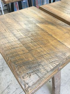 Reclaimed NY NJ Barn Wood For Gorgeous Table Tops