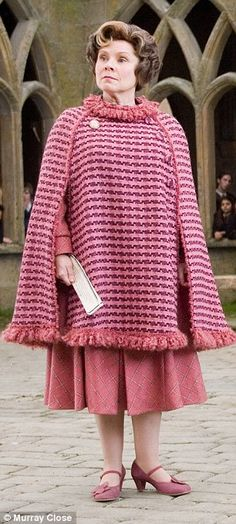 Harry Potter author JK Rowling has revealed that the character of Dolores Umbridge, played by Imelda Staunton, was based on a teacher from school.