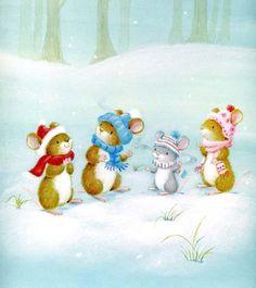 by Veronica Vasylenko (Even mice need to stay warm.)