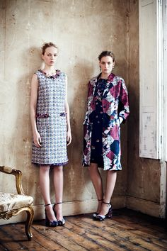 Review - Erdem Resort 2013 - Erdem - Collections - Vogue (Those heels were made for me!!)