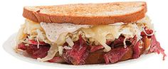 Simple Weeknight Meals: Reuben Sandwiches and Smashed Beets with Goat Cheese