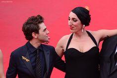 Xavier Dolan - Rossy de Palma #dessange #cannes2015 #coiffeurofficiel Xavier Dolan, Cannes Film Festival 2015, Cannes 2015, Star Francaise, Palais Des Festivals, Hairdresser, Latina, Actresses, Stars