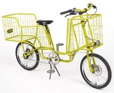 Yellow bike basket : )