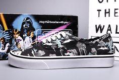 Vans Black Star Wars Themes Skate Shoes [Vans18] - $43.94 : Vans Shop, Vans Shop in California