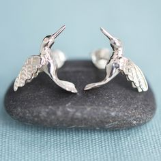 Hummingbird Stud Earrings - By Lily Charmed