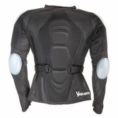 Vigilante Air Body Armor for Men (back)