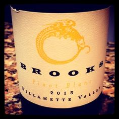 Nittany Epicurean: 2013 Brooks Willamette Valley Pinot Blanc