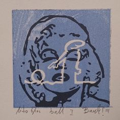 "Lithography ""Ball"". 10x10 cm. Artist: Ronny Bank. Want it? Go to http://artbyhand.no/produkt/billedkunst/ronny-bank/ball"