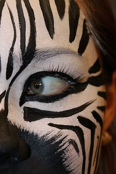 Zebra Facepaint III                                                                                                                                                     More