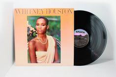 1985 - Whitney Houston - Whitney Houston - Debut Album - LP Vinyl Record Album - 80's Classic Pop Soul by VintageLostButFound on Etsy