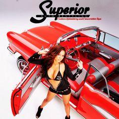 SuperiorAutoRestyling.com Convertible tops, repairs, restorations, custom interiors, sunroof moonroof repairs and installations