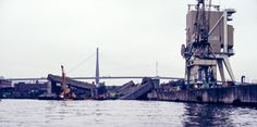 The remains of the Elbe II bunker, photographed in 1981 - Photo Credit Ww2 Veterans, St Nazaire, German Submarines, Ww2 History, Battle Of Britain, Founded In, Atlantic Ocean, Bunker, Hamburg