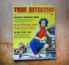 Vintage True Detective Magazine With Paul Rader Cover di franz66