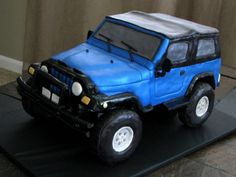 Jeep Wrangler Sport First time doing anything like this, and now I can cross a carved auto cake off my list! Curiosity satisfied :) It was. Jeep Sport, Sport One, Jeep Wrangler Sport, Fancy Cakes, Cute Cakes, Jeep Cake, Motorcycle Cake, Fantasy Cake, Sport Cakes