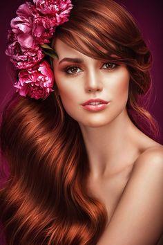 Where Professional Models Meet Model Photographers - ModelMayhem Best Beauty Tips, Beauty Hacks, Beauty Shoot, Hair Beauty, 3d Foto, Beautiful Redhead, Grunge Hair, Latest Hairstyles, Woman Face