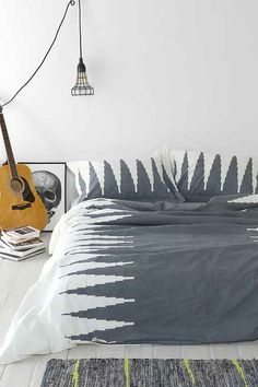 Magical Thinking Lightning Duvet Cover - Urban Outfitters