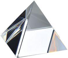 """Amlong Crystal Crystal Pyramid 2.75"""" H with Gift Box"""