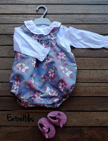 Ranita de bebe (tutoriales y patrones) New Baby Products, Rompers, Sewing, Clothes, Dresses, Cooking, Diy, Fashion, Animals