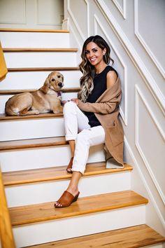 fashion blogger mia mia mine wearing white pistola jeans from stitch fix