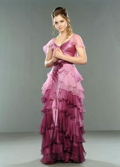 Hermione Granger Ball Gown | Harry Potter and the Goblet of Fire.