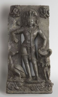 Philadelphia Museum of Art - Collections Object : The God Karttikeya Geography: Made in Odisha, India, Asia Date: c. 12th - 13th century Medium: Schist Dimensions: 22 x 11 1/2 x 4 7/8 inches (55.9 x 29.2 x 12.4 cm) Curatorial Department: South Asian Art Object Location: * Gallery 231, Asian Art, second floor  Accession Number: 1956-75-14 Credit Line: Purchased with funds contributed by Miss Anna Warren Ingersoll, Nelson Rockefeller, R. Sturgis Ingersoll, Mrs. Rodolphe Meyer de Schauensee…