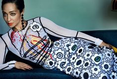 Loving actress Ruth Negga turns up the glam for her first Voguecover.The Irish-Ethiopian beauty poses it up for the fashion bible in...