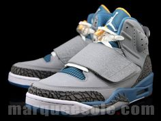 97ba27012e69d5 Here is a detailed look at the upcoming Jordan Son Of Mars Stealth Blue  University Gold Sneaker dropping in August