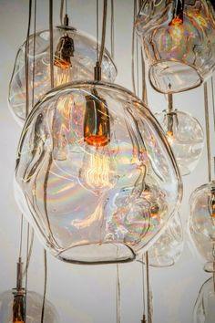 Next Post Previous Post John Pomp hand blown glass Infinity pendant. x °° John Pomp hand blown glass. Kitchen Pendants, Glass Pendants, Glass Kitchen, Kitchen Island, Kitchen Cabinets, Interior Lighting, Home Lighting, Lighting Stores, Industrial Lighting
