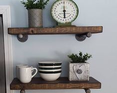 6 Thrilling Tips AND Tricks: Black Floating Shelves Half Baths floating shelves diy media.Floating Shelf With Hooks Display floating shelves over bed house tours.How To Make Floating Shelves Woodworking. Kitchen Design Decor, Decor, Black Floating Shelves, Headboard With Shelves, Floating Shelves Kitchen, Shelf Arrangement, Farmhouse Kitchen Decor, Floating Shelves Living Room