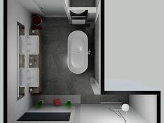 Bathroom Lighting, Bathroom Ideas, Toilet, Bathtub, Mirror, Furniture, Home Decor, Bath Tube, Flush Toilet