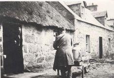 Bill Wright, milkman in Dornoch c. 1900