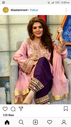 Shop salwar suits online for ladies from BIBA, W & more. Explore a range of anarkali, punjabi suits for party or for work. Pakistani Fashion Party Wear, Pakistani Wedding Outfits, Pakistani Dresses Casual, Indian Fashion Dresses, Pakistani Dress Design, Bridal Outfits, Indian Outfits, Desi Wedding Dresses, Party Wear Dresses