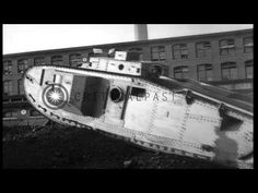 A WW1 era Mark VIII tank is tested in Bridgeport, Connecticut HD Stock Footage - YouTube
