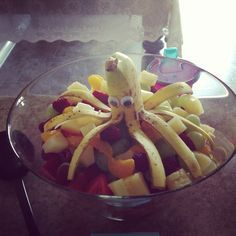 Mermaid Party fruit salad