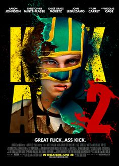 Kick-Ass 2 Such a good movie, Chloe Grace Mooretz is perfect in it!