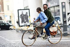 Bicycle Built for Two Photograph by Adam Katz Sinding.