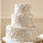 burlap wedding cakes | Wedding Cake — Wedding Ideas, Wedding Trends, and Wedding Galleries