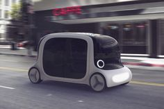Driverless transportation is now sounding more like a soon to be reality. #transportation #taxi #YankoDesign