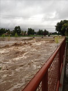 Colorado flooding 9/12/2013... 27 dams suffered damage and 9 of them completely collapsed adding to the damage of the flood in this 1 in 1,000 year storm.