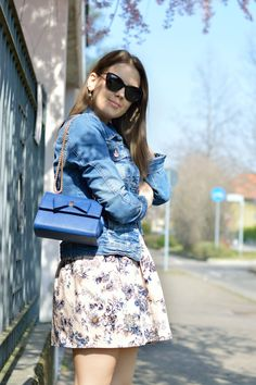 www.ellysa.it #spring #floral #denim