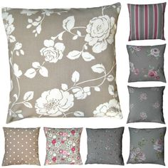 #Handmade #Clarke #Cushion #Covers #Shabby #Vintage #Chic #Pillow #Scatter £6.16
