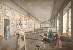 The Royal Academy, c1780 by London Metropolitan Archives, via Flickr