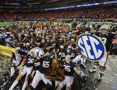 2013 SEC Football Championship Game. Football Rules, Free Football, Auburn Football, Auburn Tigers, College Football, Football Team, Sec Football Championship, Texas Forever, Alma Mater