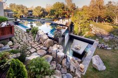 Nothing better than seeing reflections off a pool. This Pebble Tec Tropical Breeze does just that. Montreal, Breeze, Vancouver, Swimming Pools, Toronto, Tropical, Canada, Patio, Outdoor Decor