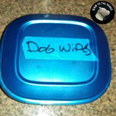 Homemade Pet Wipes 2